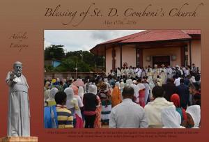 Etiópia: Igreja e biblioteca dedicadas a São Daniel Comboni