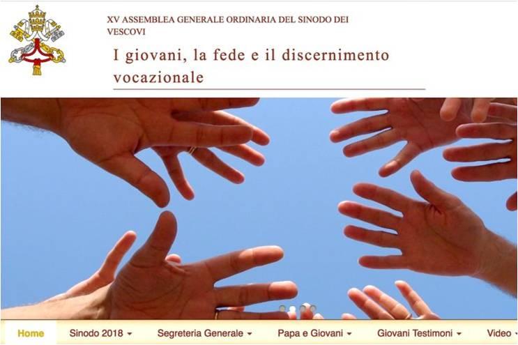 Nova web do Vaticano promove a participação dos jovens em Sínodo