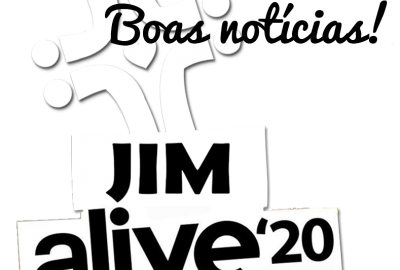 Logo JIM alive - boas notícias v2