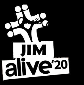 Logo JIM alive - oracao v2