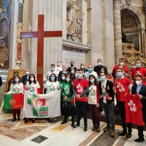 Símbolos das JMJ Lisboa2023 já estão em Portugal